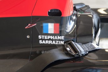 World © MountersPhotography/OctanePhotos.co.uk. FIA Formula E testing Donington Park 9th July 2014. Spark-Renault SRT_01E. Venturi - Stephane Sarrazin. Digital Ref : 1031JM1D0043