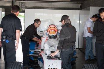 World © MountersPhotography/OctanePhotos.co.uk. FIA Formula E testing Donington Park 9th July 2014. Spark-Renault SRT_01E. Andretti Autosport – Scott Speed. Digital Ref : 1031JM1D0049