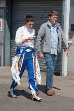 World © MountersPhotography/OctanePhotos.co.uk. FIA Formula E testing Donington Park 9th July 2014. Spark-Renault SRT_01E. Amlin Aguri - Katherine Legge. Digital Ref : 1031JM1D0070