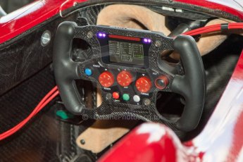 World © MountersPhotography/OctanePhotos.co.uk. FIA Formula E testing Donington Park 9th July 2014. Spark-Renault SRT_01E. China Racing – Jerome d'Ambrosio. Digital Ref : 1031JM1D9946
