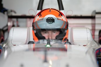 World © MountersPhotography/OctanePhotos.co.uk. FIA Formula E testing Donington Park 9th July 2014. Spark-Renault SRT_01E. Andretti Autosport – Scott Speed. Digital Ref : 1031JM1D9952