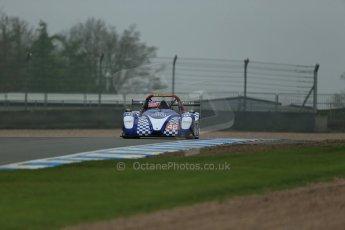 World © Octane Photographic Ltd. Donington Park General testing, Thursday 24th April 2014. Jeremy and Andrew Ferguson - Radical SR3 RS. Digital Ref : 0913lb1d8588