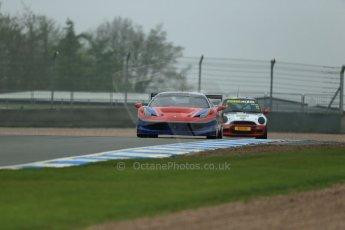 World © Octane Photographic Ltd. Donington Park General testing, Thursday 24th April 2014. Ferrari 458 Italia - FF Corse. Digital Ref : 0913lb1d8601