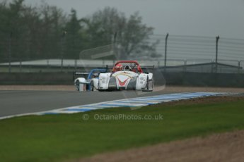 World © Octane Photographic Ltd. Donington Park General testing, Thursday 24th April 2014. David Evans - Radical SR3 RS. Digital Ref : 0913lb1d8643