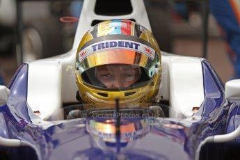 World © Octane Photographic Ltd. Thursday 22nd May 2014. GP2 Practice – Monaco, Monte Carlo. Johnny Cecotto - Trident. Digital Ref : 0959CB7D2167