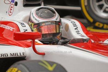 World © Octane Photographic Ltd. Thursday 22nd May 2014. GP2 Practice – Monaco, Monte Carlo. Stoffel Vandoorne - ART Grand Prix. Digital Ref : 0959CB7D2175