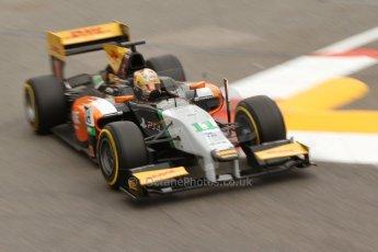 World © Octane Photographic Ltd. Thursday 22nd May 2014. GP2 Practice – Monaco, Monte Carlo. Daniel Abt - Hilmer Motorsport. Digital Ref: 0959CB7D2194