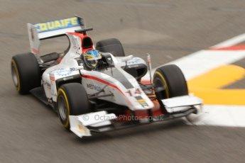 World © Octane Photographic Ltd. Thursday 22nd May 2014. GP2 Practice – Monaco, Monte Carlo. Adrian Quaife-Hobbs - Rapax. Digital Ref : 0959CB7D2204
