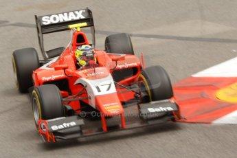 World © Octane Photographic Ltd. Thursday 22nd May 2014. GP2 Practice – Monaco, Monte Carlo. Andre Negrao - Arden International. Digital Ref : 0959CB7D2249