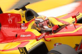 World © Octane Photographic Ltd. Thursday 22nd May 2014. GP2 Practice – Monaco, Monte Carlo. Raffaele Marciello - Racing Engineering. Digital Ref : 0959CB7D2332