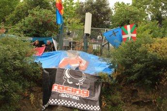 World © Octane Photographic Ltd. Thursday May 22nd 2014. GP2 Practice - Racing Engineering supporters, Bad Toro. Monaco – Monte Carlo. Digital Ref : 0959CB7D5002