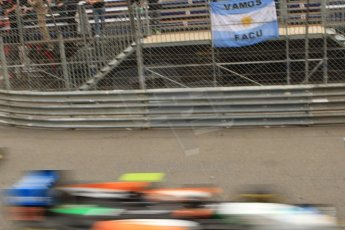 World © Octane Photographic Ltd. Thursday 22nd May 2014. GP2 Practice – Monaco, Monte Carlo. Facu Regalia - Hilmer Motorsport. Digital Ref: 0959CB7D5046