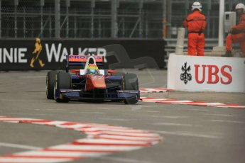 World © Octane Photographic Ltd. Thursday 22nd May 2014. GP2 Practice – Monaco, Monte Carlo. Sergio Canamasas - Trident. Digital Ref : 0959LB1D4107