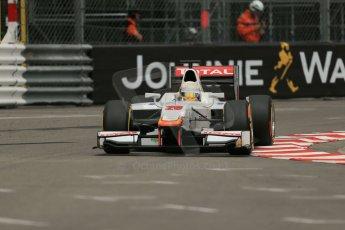 World © Octane Photographic Ltd. Thursday 22nd May 2014. GP2 Practice – Monaco, Monte Carlo. Arthur Pic - Campos Racing. Digital Ref : 0959LB1D4183