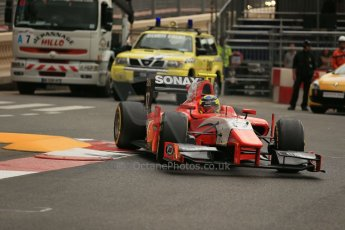 World © Octane Photographic Ltd. Thursday 22nd May 2014. GP2 Practice – Monaco, Monte Carlo. Andre Negrao - Arden International. Digital Ref : 0959LB1D4359