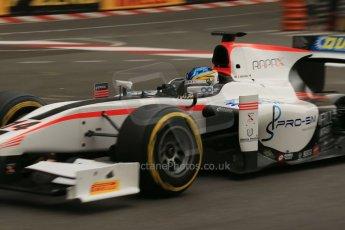 World © Octane Photographic Ltd. Thursday 22nd May 2014. GP2 Practice – Monaco, Monte Carlo. Adrian Quaife-Hobbs - Rapax. Digital Ref : 0959LB1D4375