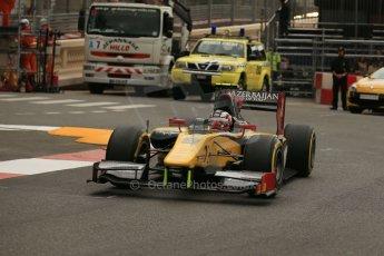 World © Octane Photographic Ltd. Thursday 22nd May 2014. GP2 Practice – Monaco, Monte Carlo. Stephane Richelmi - DAMS. Digital Ref : 0959LB1D4404