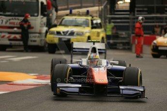 World © Octane Photographic Ltd. Thursday 22nd May 2014. GP2 Practice – Monaco, Monte Carlo. Johnny Cecotto - Trident. Digital Ref : 0959LB1D4500