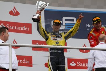World © Octane Photographic Ltd. Sunday 20th July 2014. GP2 Race 2 – German GP - Hockenheim. Felipe Nasr - Carlin (2nd). Digital Ref : 1050CB7D6050
