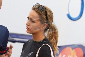 World © Octane Photographic Ltd. Saturday 19th July 2014. GP3 Qualifying Session. German GP, Hockenheim. Carmen Jorda - Koiranen GP. Digital Ref : 1041CB7D5186