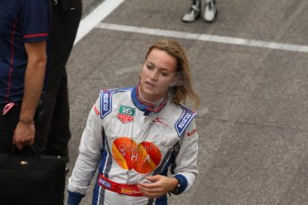 World © Octane Photographic Ltd. Sunday 20th July 2014. GP3 Race 2. German GP, Hockenheim. Carmen Jorda - Koiranen GP. Digital Ref : 1049CB7D5729