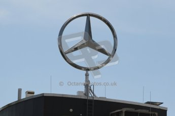 World © Octane Photographic Ltd. Thursday 17th July 2014. GP2 Paddock – German GP - Mercedes VIP suite. Digital Ref : 1034CB7D4466