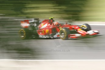 World © Octane Photographic Ltd. Friday 25th July 2014. Hungarian GP, Hungaroring - Budapest. - Formula 1 Practice 2. Scuderia Ferrari F14T – Kimi Raikkonen. Digital Ref: 1057CB7D6986