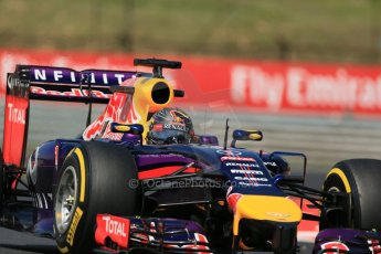 World © Octane Photographic Ltd. 2014. Friday 25th July 2014. Hungarian GP, Hungaroring - Budapest. Practice 2. Infiniti Red Bull Racing RB10 - Sebastian Vettel. Digital Ref: 1057LB1D0817
