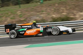 World © Octane Photographic Ltd. Friday 25th July 2014. GP2 Practice – Hungarian GP, Hungaroring - Budapest. Jon Lancaster - Hilmer Motorsport. Digital Ref: