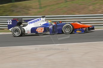 World © Octane Photographic Ltd. Friday 25th July 2014. GP2 Practice – Hungarian GP, Hungaroring - Budapest. Sergio Canamasas - Trident. Digital Ref :