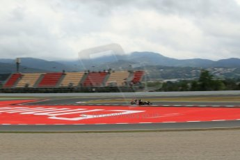 World © Octane Photographic Ltd. Tuesday 13th May 2014. Circuit de Catalunya - Spain - Formula 1 In-Season testing. Scuderia Toro Rosso STR9 - Jean-Eric Vergne. Digital Ref: