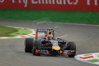 World © Octane Photographic Ltd. Friday 5th September 2014, Italian GP, Monza - Italy  - Formula 1 Practice 1. Infiniti Red Bull Racing RB10 – Daniel Ricciardo. Digital Ref: 1094LB1D3096