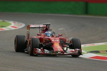 World © Octane Photographic Ltd. Friday 5th September 2014, Italian GP, Monza - Italy  - Formula 1 Practice 1. Scuderia Ferrari F14T - Fernando Alonso. Digital Ref: 1094LB1D3117