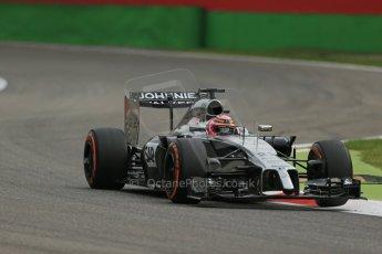 World © Octane Photographic Ltd. Friday 5th September 2014, Italian GP, Monza - Italy - Formula 1 Practice 1. McLaren Mercedes MP4/29 - Jenson Button. Digital Ref: 1094LB1D3507