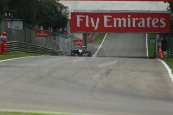 World © Octane Photographic Ltd. Friday 5th September 2014, Italian GP, Monza - Italy  - Formula 1 Practice 1. Scuderia Toro Rosso STR 9 – Daniil Kvyat. Digital Ref: 1094LB1D3622
