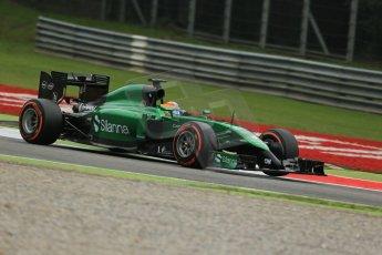 World © Octane Photographic Ltd. Friday 5th September 2014, Italian GP, Monza - Italy - Formula 1 Practice 1. Caterham F1 Team CT05 – Roberto Merhi. Digital Ref: 1094LB1D3639