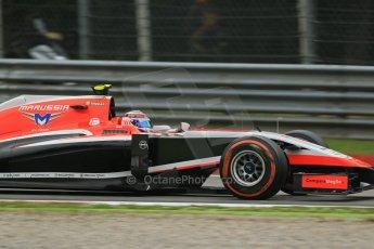 World © Octane Photographic Ltd. Friday 5th September 2014, Italian GP, Monza - Italy  - Formula 1 Practice 1. Marussia F1 Team MR03 – Max Chilton. Digital Ref: 1094LB1D3657