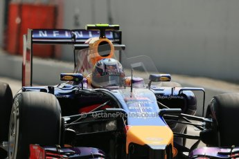 World © Octane Photographic Ltd. Friday 5th September 2014, Italian GP, Monza - Italy. - Formula 1 Practice 2. Infiniti Red Bull Racing RB10 – Daniel Ricciardo. Digital Ref: 1097LB1D4499