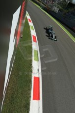World © Octane Photographic Ltd. Saturday 6th September 2014, Italian GP, Monza - Italy. - Formula 1 Practice 3. Mercedes AMG Petronas F1 W05 Hybrid – Lewis Hamilton. Digital Ref: 1100LB1D5480