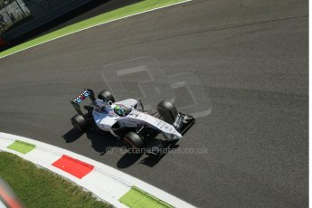 World © Octane Photographic Ltd. Saturday 6th September 2014, Italian GP, Monza - Italy. - Formula 1 Practice 3. Williams Martini Racing FW36 – Felipe Massa. Digital Ref: 1100LB1D5519