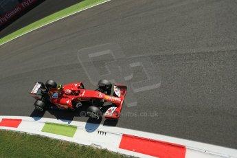 World © Octane Photographic Ltd. Saturday 6th September 2014, Italian GP, Monza - Italy. - Formula 1 Practice 3. Scuderia Ferrari F14T – Kimi Raikkonen. Digital Ref: 1100LB1D5609