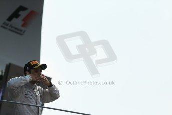 World © Octane Photographic Ltd. Sunday 7th September 2014, Italian GP, Monza - Italy. - Formula 1 Podium. Williams Martini Racing FW36 – Felipe Massa (3rd). Digital Ref: 1113LB1D8436