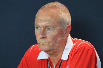 World © Octane Photographic Ltd. Friday 5th September 2014, Italian GP, Monza. John Booth - Marussia F1 Team Team Principal. Digital Ref: