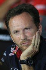 World © Octane Photographic Ltd. Friday 5th September 2014, Italian GP, Monza. Christian Horner - Team Principal of the Infiniti Red Bull Racing. Digital Ref:
