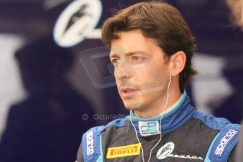 World © Octane Photographic Ltd. Friday Friday 5th September 2014. GP2 Practice – Italian GP - Monza, Italy. Sergio Campana - Venezuela GP Lazarus. Digital Ref : 1095CB7D8768