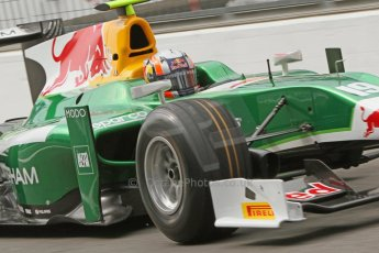 World © Octane Photographic Ltd. Friday Friday 5th September 2014. GP2 Practice – Italian GP - Monza, Italy. Pierre Gasly - EQ8 Caterham Racing. Digital Ref : 1095CB7D8722