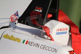 World © Octane Photographic Ltd. Saturday 6th September 2014. GP3 Qualifying Session, Italian GP, Monza - Italy. Kevin Ceccon - Jenzer Motorsport. Digital Ref : 1103CB7D9691
