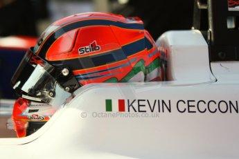 World © Octane Photographic Ltd. Saturday 6th September 2014. GP3 Qualifying Session, Italian GP, Monza - Italy. Kevin Ceccon - Jenzer Motorsport. Digital Ref : 1103CB7D9800