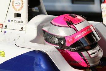 World © Octane Photographic Ltd. Saturday 6th September 2014. GP3 Qualifying Session, Italian GP, Monza - Italy. Mitchel Gilbert - Trident. Digital Ref : 1103CB7D9821