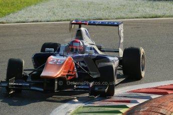World © Octane Photographic Ltd. Saturday 6th September 2014. GP3 Race 1, Italian GP, Monza - Italy. Mitchel Gilbert - Trident. Digital Ref : 1108LB1D6741
